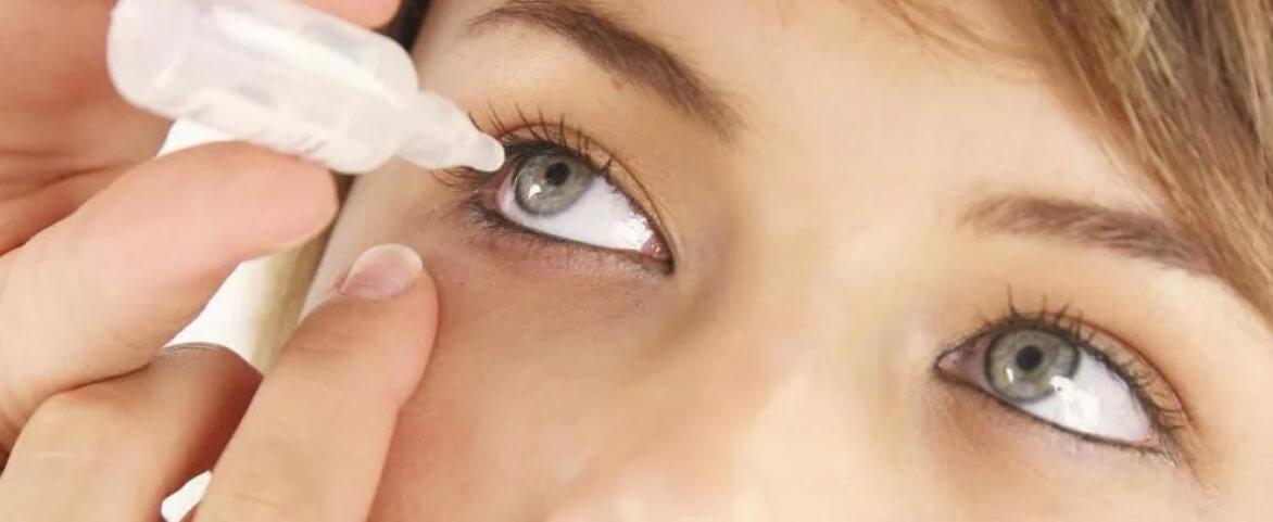 Как закапывать капли в глаза?